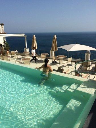 Albergo Punta Regina : Rooftop pool