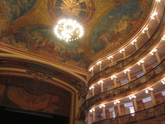 Théâtre Amazonas : Pinturas no teto do Teatro