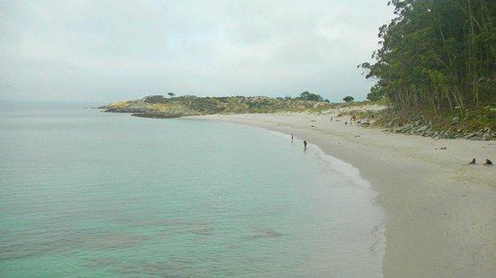 Barco Islas Cíes - Cruceros Rias Baixas: lo que era la playa nudista