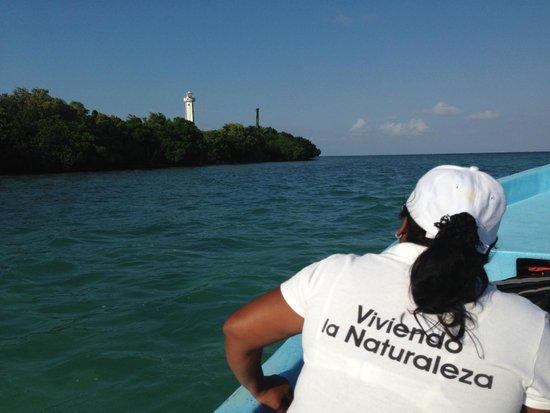 Sian Ka'an Biosphere Reserve : El faro de Punta Allen