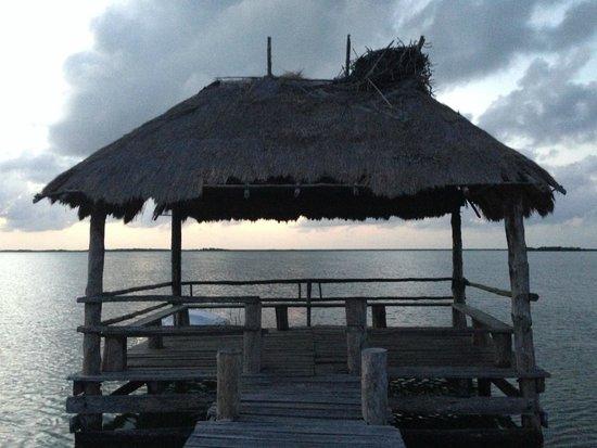 Sian Ka'an Biosphere Reserve : El muelle