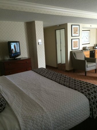 Crowne Plaza Harrisburg-Hershey: NICE LARGE BEDROOM part 2