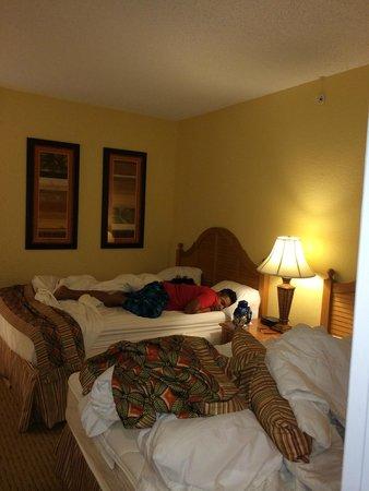 Holiday Inn Club Vacations At Orange Lake Resort: 2 beds