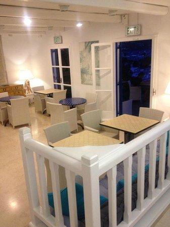 PortoBello Boutique Hotel: Hall, dove si fa anche colazione se non si vuole stare in terrazza.