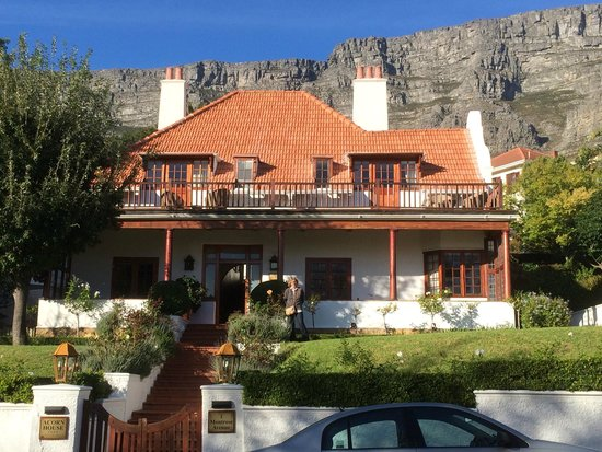 Acorn House, with Table Mountain background