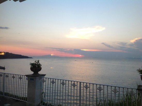 Grand Hotel Riviera: Abendstimmung