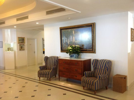 Grand Hotel Riviera : Hotelhalle
