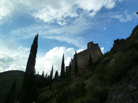 Chateaux de Lastours: View of one of the castles