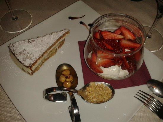 Trattoria dal Taio: Dessert