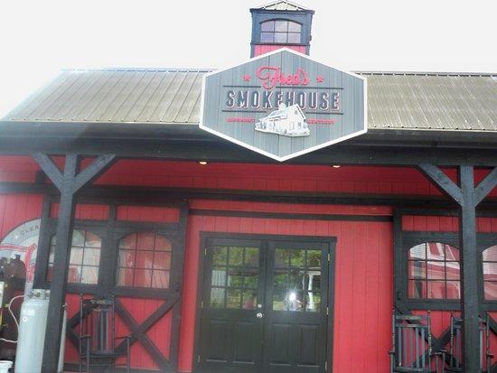 Jim Beam American Stillhouse: Fred's Smokehouse