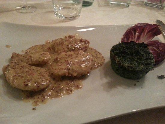 ristorante Gazebo: Filetto alla senape