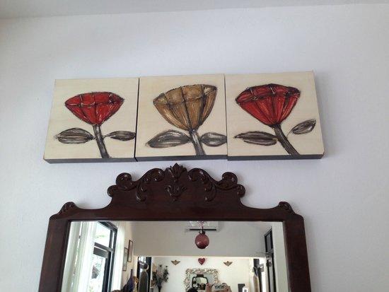 Hotel Casa Ticul: Decoração da recepção