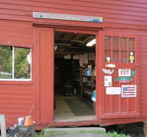 Auer Family Boathouse: The entrance