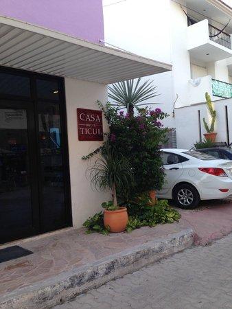 Hotel Casa Ticul: Fachada do hotel