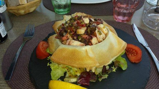 Le Cosi: salade de poulpe