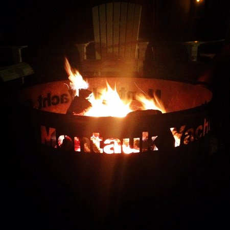 Montauk Yacht Club Resort & Marina: Fire pit