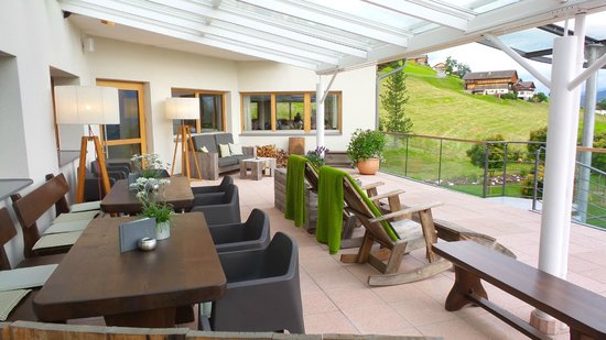 Hotel Gitschberg: terrazza panoramica