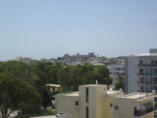 Hotel Mediterranean : panorama dalla camera