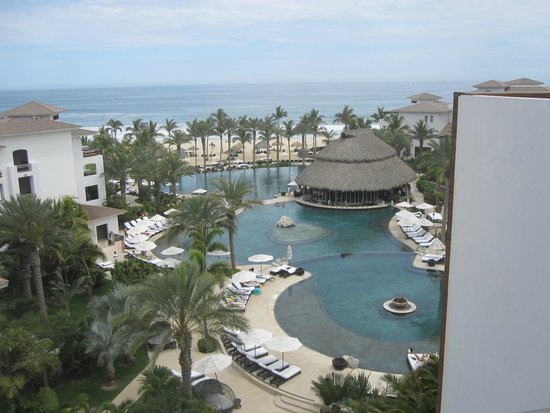 Cabo Azul Resort: View from our patio