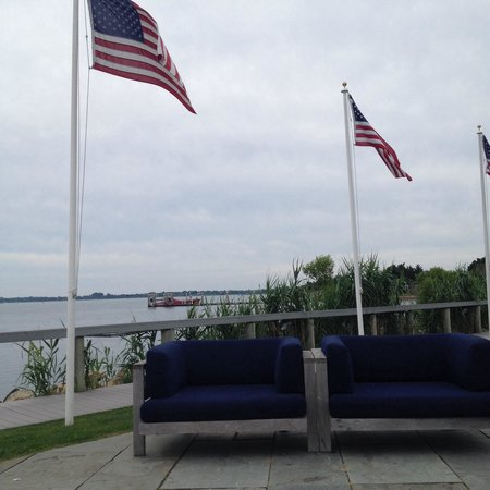 Montauk Yacht Club Resort & Marina: Cozy seating area