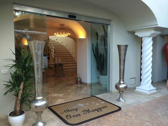 Hotel Orsa Maggiore : Entrance