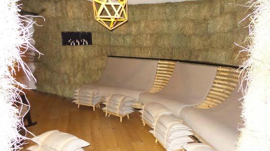 Hotel Gitschberg: sala relax al fieno