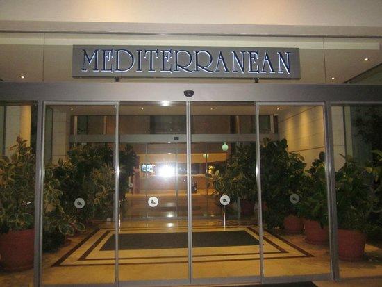 Hotel Mediterranean: ingresso hotel
