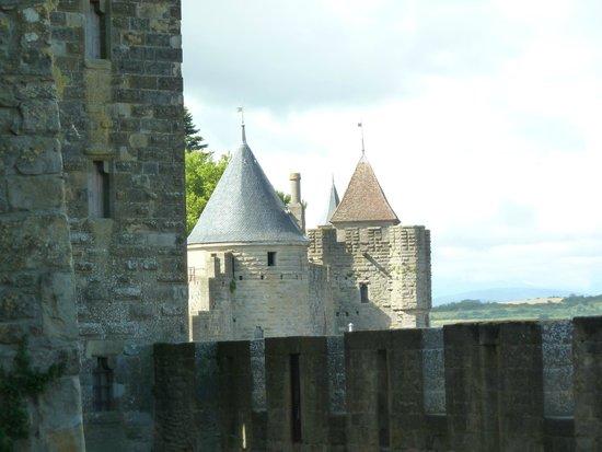 CHÂTEAU ET REMPARTS DE LA CITÉ DE CARCASSONNE : View from the walls