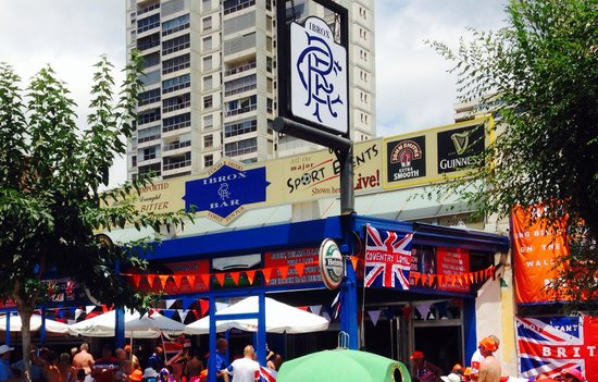 Ibrox Bar: New location in Calle Lepanto directly behind old bar