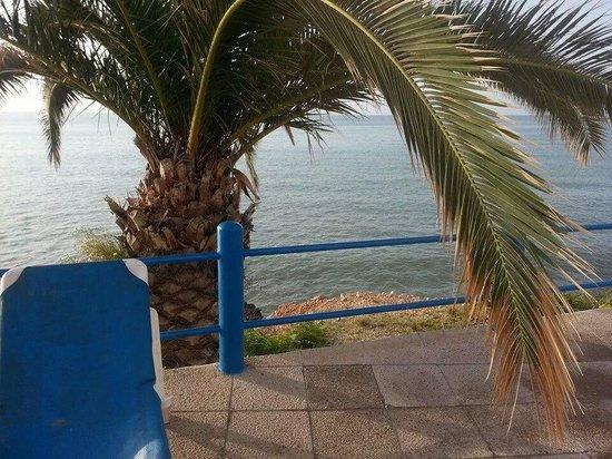 Hostal Montecarlo: Desde zona de piscinas