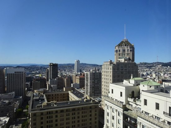 Fairmont San Francisco: Nice views!