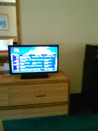 Econo Lodge Cumberland : Econo Lodge, Kingsland, GA 7/14 Flat screen TV