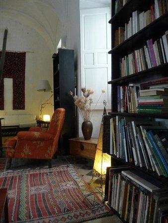 La Casa Grande: la biblioteca