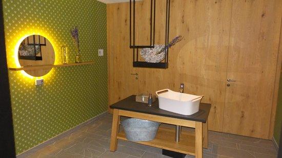 Hotel Gitschberg: bagno della SPA