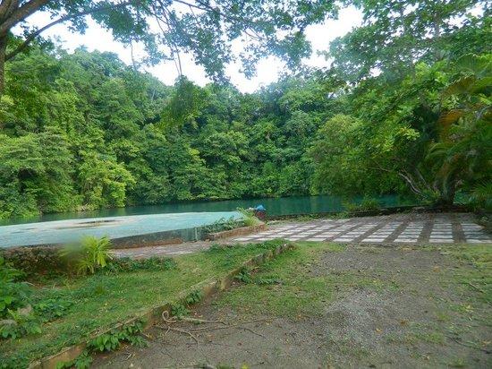 Blue Lagoon : vista del lugar