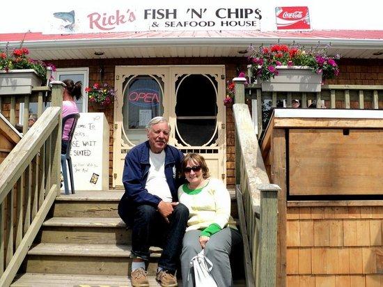 Rick's Fish & Chips: Patio at Rick's.
