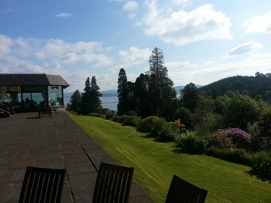 Stonefield Castle Hotel: View to the Loch Fyne