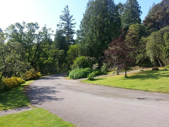 Stonefield Castle Hotel: Park