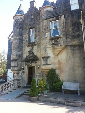Stonefield Castle Hotel: Entrence