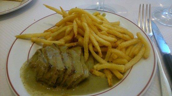 Le Relais De Venise - Marylebone : Ok steak with ok sauce