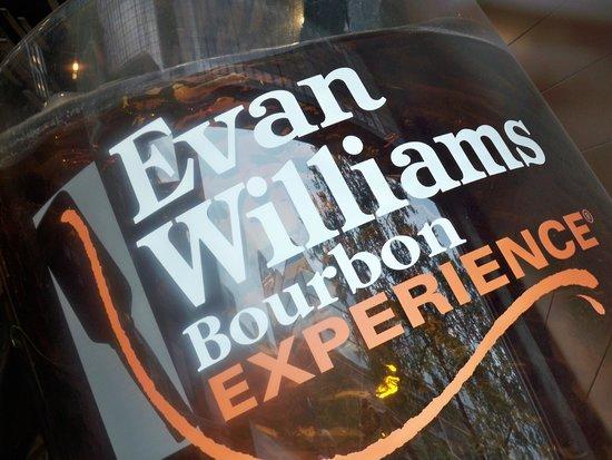 Evan Williams Bourbon Experience: Main window Display
