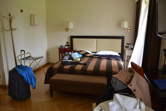 Villa dei Cedri: Il letto