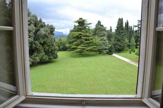 Villa dei Cedri: La vista dalla nostra stanza