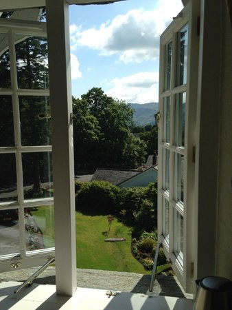 The Grange Country House: Perfect view