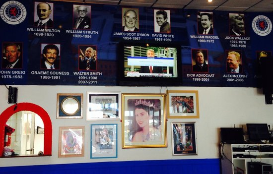 Ibrox Bar: All the Greats