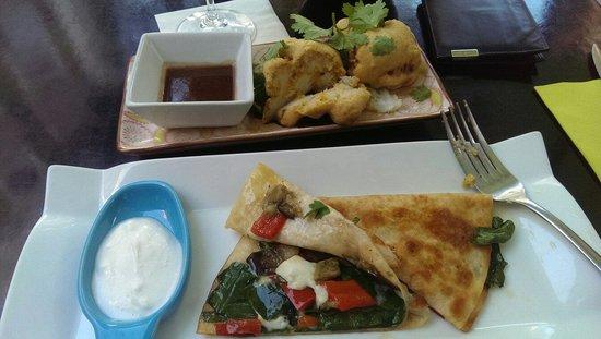 Basilico Restaurant: Sample menu