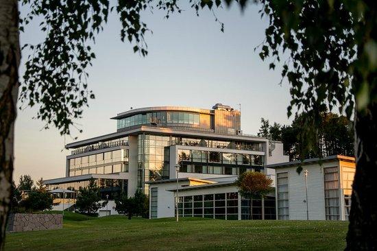 Sankt Jorgen Park : Sankt Jörgen Park Resort i kvällssolen