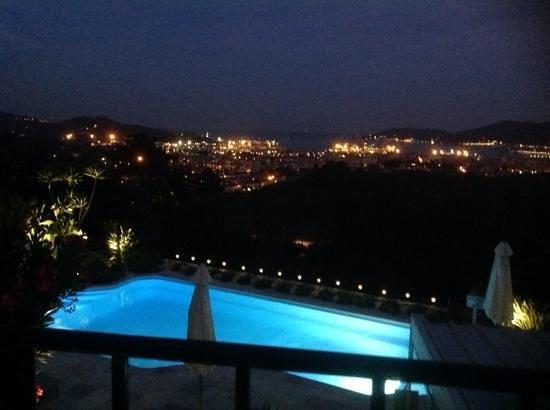 B&B Villa Amaranta: view from our balcony