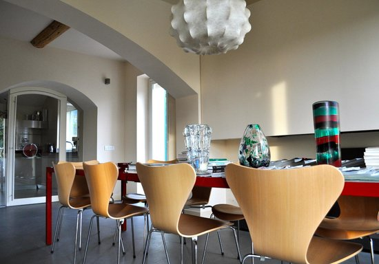 Villa Rosmarino : Dining area, indoors