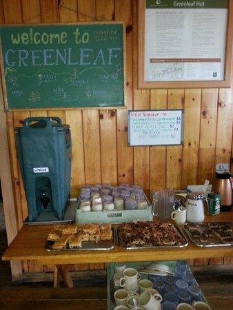Franconia Notch State Park: Greenleaf Hut